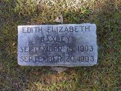 Edith Elizabeth Baxley