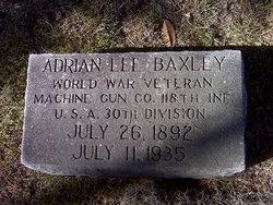 Adrian Lee Baxley