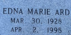 Edna Marie <i>Ard</i> Brown