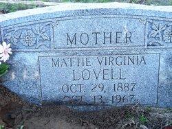 Mattie Virginia Jennie <i>Murchison</i> Lovell