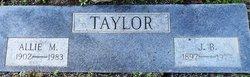 Allie M. Taylor