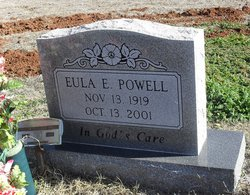 Eula Elzorah <i>Fisher</i> Powell