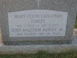 Mary Flynn <i>Callahan</i> Ashley