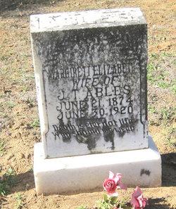 Margaret Ann Elizabeth <i>Gattis</i> Ables