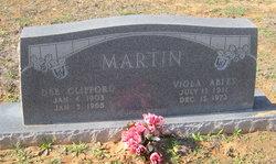 Viola Sarah <i>Ables</i> Martin