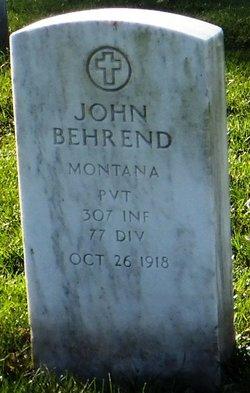 John Behrend