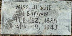 Jessie I. Brown