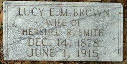 Lucy E. M. <i>Brown</i> Smith