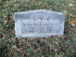 Marguerite Inez <i>Daniels</i> Dietrich
