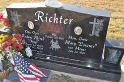 Mary Loraine <i>Meyer</i> Richter