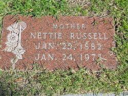 Nettie <i>Conner</i> Kilpatrick Russell