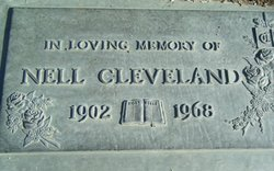 Nell Christine <i>Green</i> Cleveland