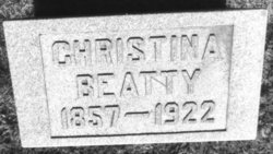 Christina <i>Monteith</i> Beatty