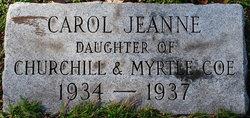 Carol Jeanne Coe