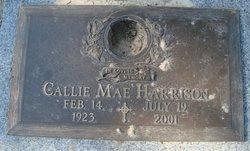 Callie Mae <i>Thomas</i> Harrison
