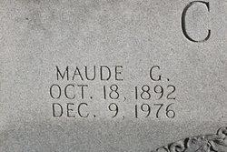 Maude <i>Gordon</i> Clark