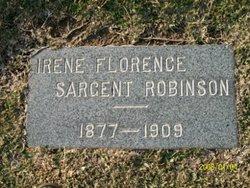 Irene Florance Sargant <i>Fleming</i> Robinson