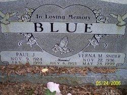 Verna Marie <i>Snider</i> Blue