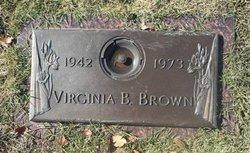 Virginia Belle <i>Mickle</i> Brown
