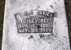 Sarah Janie <i>Pool</i> Leverett