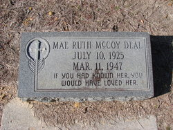 Mae Ruth <i>McCoy</i> Deal