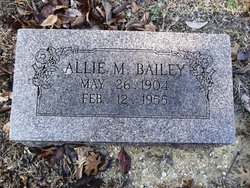 Allie Melvin Bailey