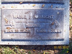 Mable F. Albright