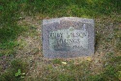 Ruby <i>Wilson</i> Billings