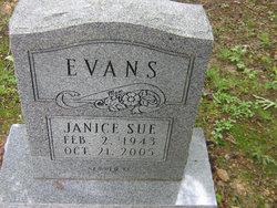 Janice Sue <i>Cole</i> Evans