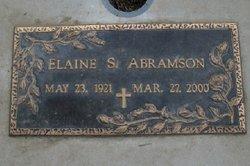 Elaine Virginia Abramson