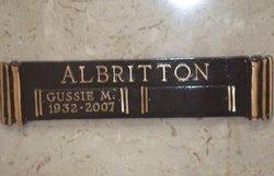 Gussie M Albritton