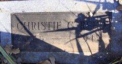 Christie <i>Gillis</i> Reed