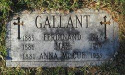 Anna <i>McCue</i> Gallant