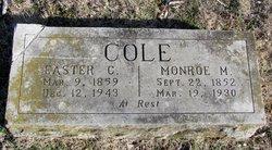 Easter C. <i>Cummings</i> Cole