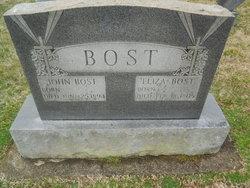 Elizabeth Louisa <i>Overcash</i> Bost