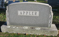 Grace <i>Benner</i> Appler
