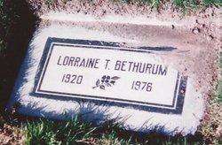 Lorraine T. <i>Fallan</i> Bethurum