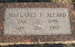 Margaret F Allard