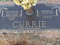 William Carl Currie, Sr