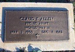 Claud Eugene Allen