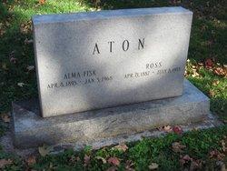 Alma <i>Fisk</i> Aton