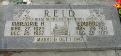 Marjorie <i>Huntsman</i> Reid