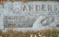 Marjorie V Anderson