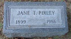 Jane <i>Thomas</i> Carson Pixley