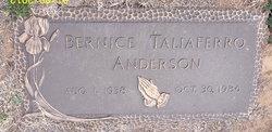 Bernice <i>Taliaferro</i> Anderson