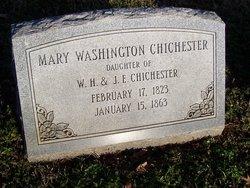 Mary <i>Washington</i> Chichester