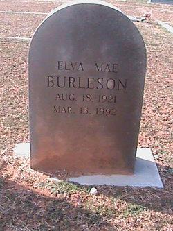 Elva Mae Burleson