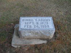 Winnie V. <i>Landers</i> Adams