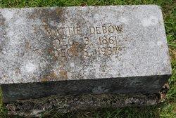 Mattie DeBow