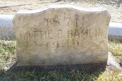 Hattie <i>Bennion</i> Hamlin